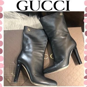 Authentic Gucci leather boots